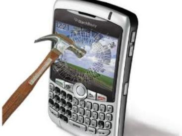 cara Mengatasi Kerusakan Blackberry